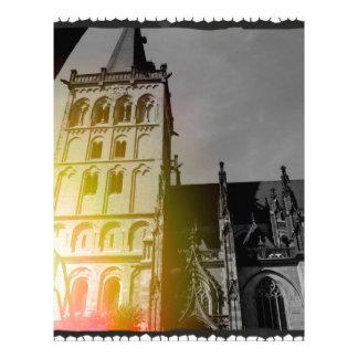 Uma igreja papeis de carta personalizados