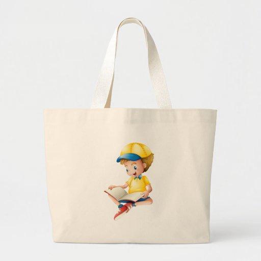 Uma leitura da criança bolsas para compras