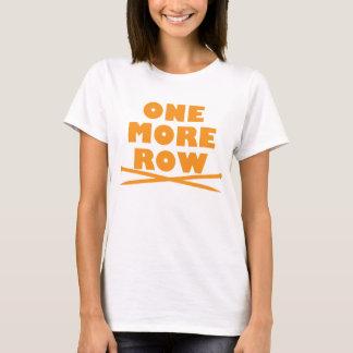 Uma mais confecção de malhas da fileira camiseta
