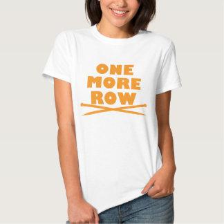 Uma mais confecção de malhas da fileira tshirt
