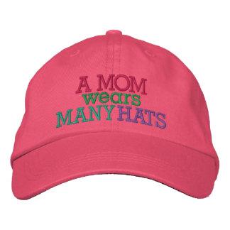 UMA MAMÃ veste muitos chapéus por SRF Boné Bordado