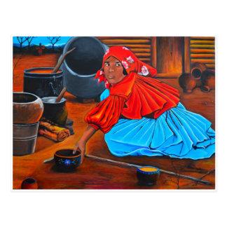"""""""Uma mulher de Tarahumara """" Cartão Postal"""