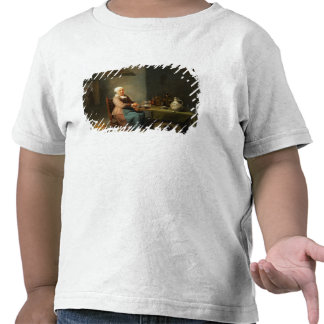 Uma mulher em uma cozinha t-shirts