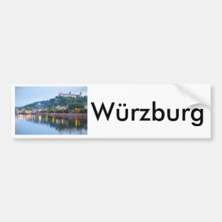 Uma noite em Würzburg Adesivo Para Carro