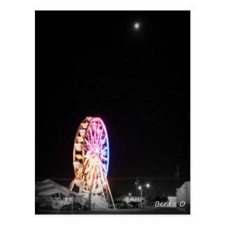 Uma noite no carnaval cartão postal