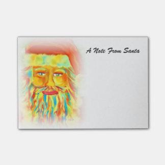 Uma nota da arte de Digitas do papai noel Sticky Notes