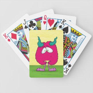 Uma o monstro carta de baralho