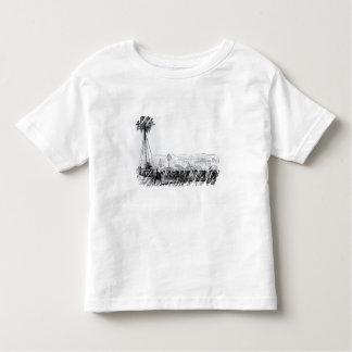 Uma palmeira que está sendo transportada a Hyde T-shirt