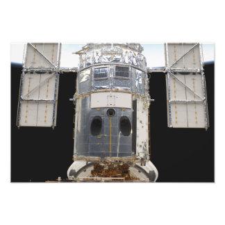 Uma parcela do telescópio espacial de Hubble Impressão De Foto