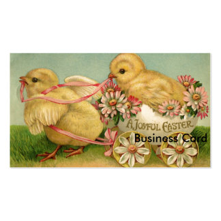 Uma páscoa alegre cartão de visita