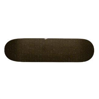 Uma pena no solo shape de skate 18,1cm