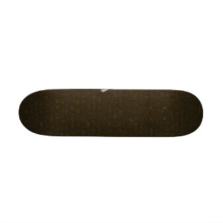 Uma pena no solo shape de skate 20,6cm