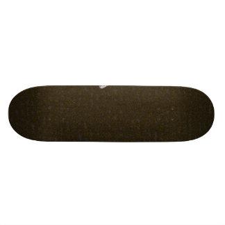 Uma pena no solo shape de skate 21,6cm