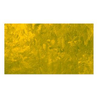 uma pintura da cor amarela modelo cartão de visita