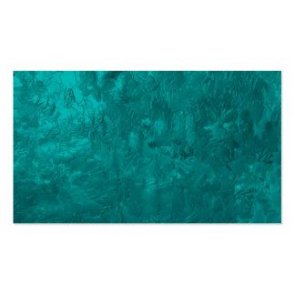 uma pintura da cor aqua modelo cartões de visitas