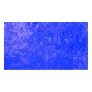 uma pintura da cor azul modelo cartão de visita