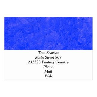 uma pintura da cor azul modelos cartão de visita