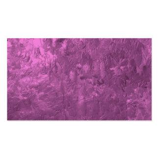 uma pintura da cor cor-de-rosa modelos cartao de visita