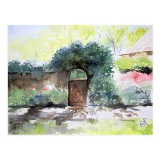 Uma porta - propriedade da casa de Englis, Ann Cartão Postal