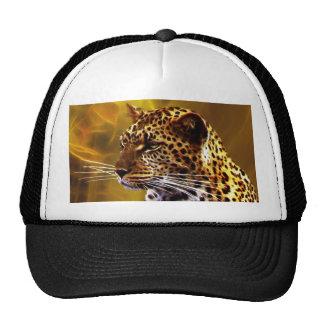 Uma posição do leopardo boné