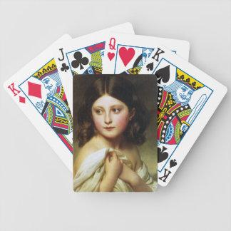 Uma rapariga chamou a princesa Charlotte Baralho Para Poker