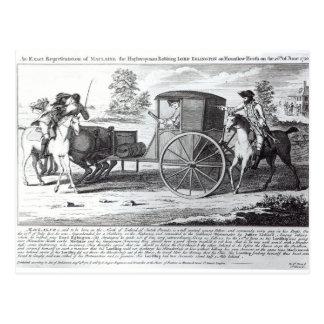 Uma representação exata de Maclaine Cartão Postal
