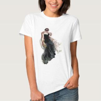 Uma senhora e seus gatos t-shirts