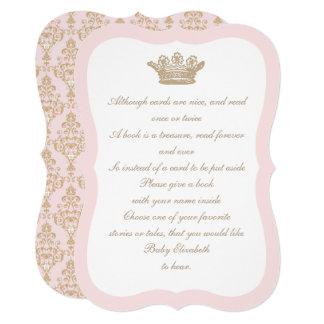 Uma vez princesa Coroa Cartão