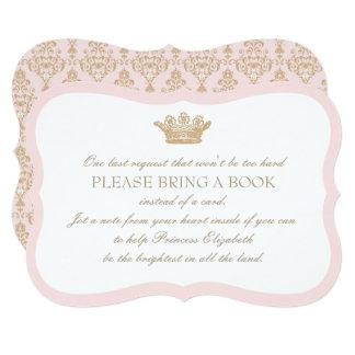 Uma vez princesa Introdução Cartão