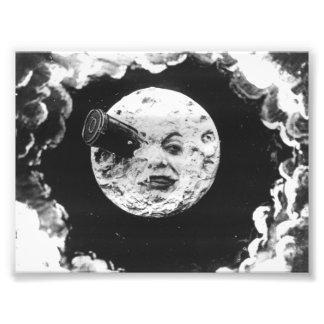 Uma viagem à lua impressão de foto