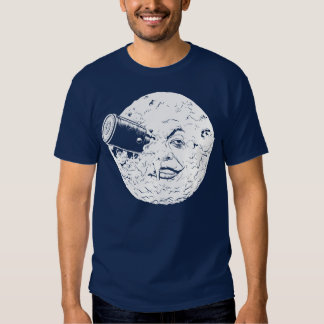 Uma viagem à lua t-shirt