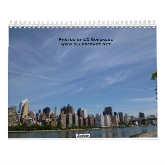 Uma viagem ao calendário de New York