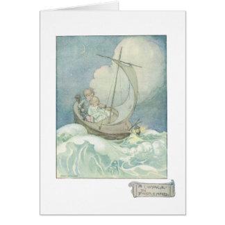 Uma viagem ao cartão do Fairyland