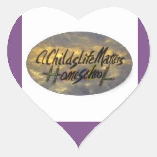 Uma vida de Childs importa, etiquetas do coração