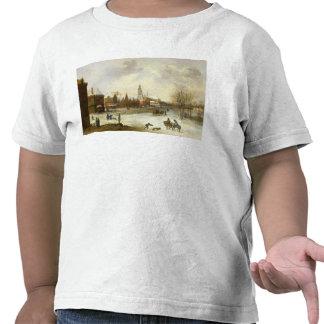 Uma vista de Breda Camiseta