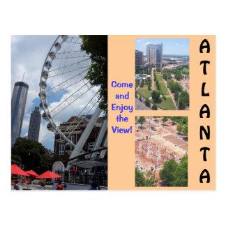 Uma vista do cartão superior de Atlanta