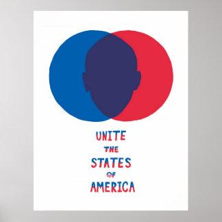 Una os estados de América Pôster