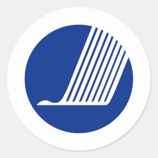 União dos países de Escandinávia da bandeira do Adesivo