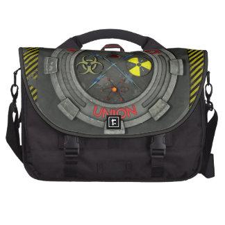 União louca do cientista mochila para laptop