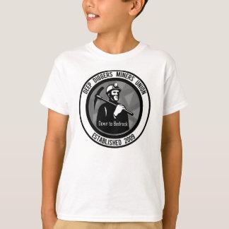 União profunda 2009 dos mineiros dos escavadores t-shirts