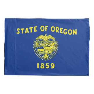 Única bandeira patriótica da fronha de almofada de