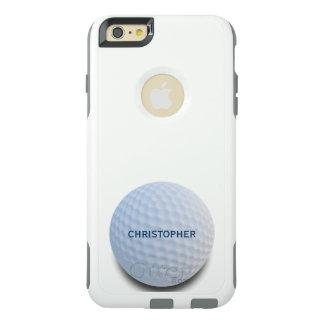Única bola de golfe branca personalizada