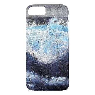 Únicas capas de iphone azuis da onda
