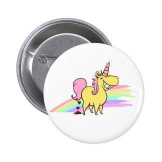 unicorn button bóton redondo 5.08cm