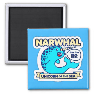 Unicórnio de Narwhal do mar Imã