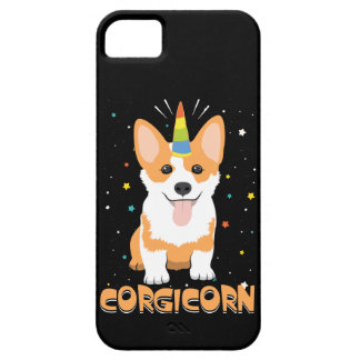 Unicórnio do Corgi - Corgicorn - desenhos animados Capa Barely There Para iPhone 5