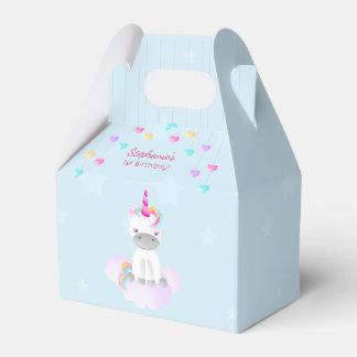 Unicórnio mágico caixinha de lembrancinhas para festas