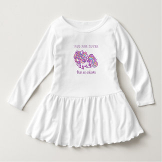 Unicórnio para o bebê vestido