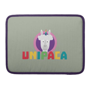 Unicórnio Unipaca Z4srx da alpaca Bolsa MacBook Pro