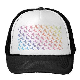 Unicórnios do arco-íris boné